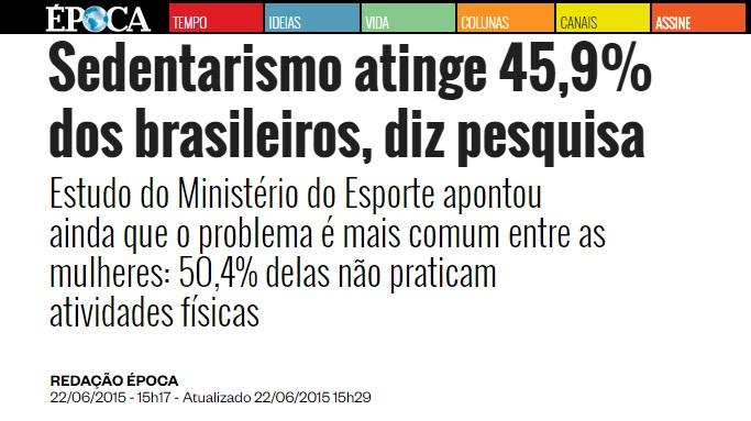 492698904 ... aos hábitos relacionados à atividade física da população brasileira  mostrou que 41