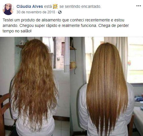 Megalizz funciona para qualquer tipo de cabelo e qualquer química